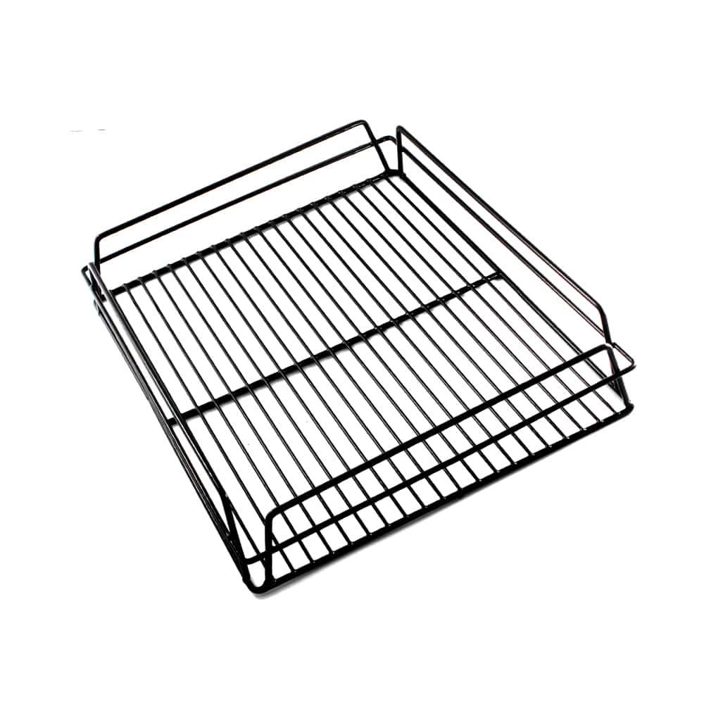 KH Glass Baskets Rack Black 425 X 350 X 75 (17 X 14)