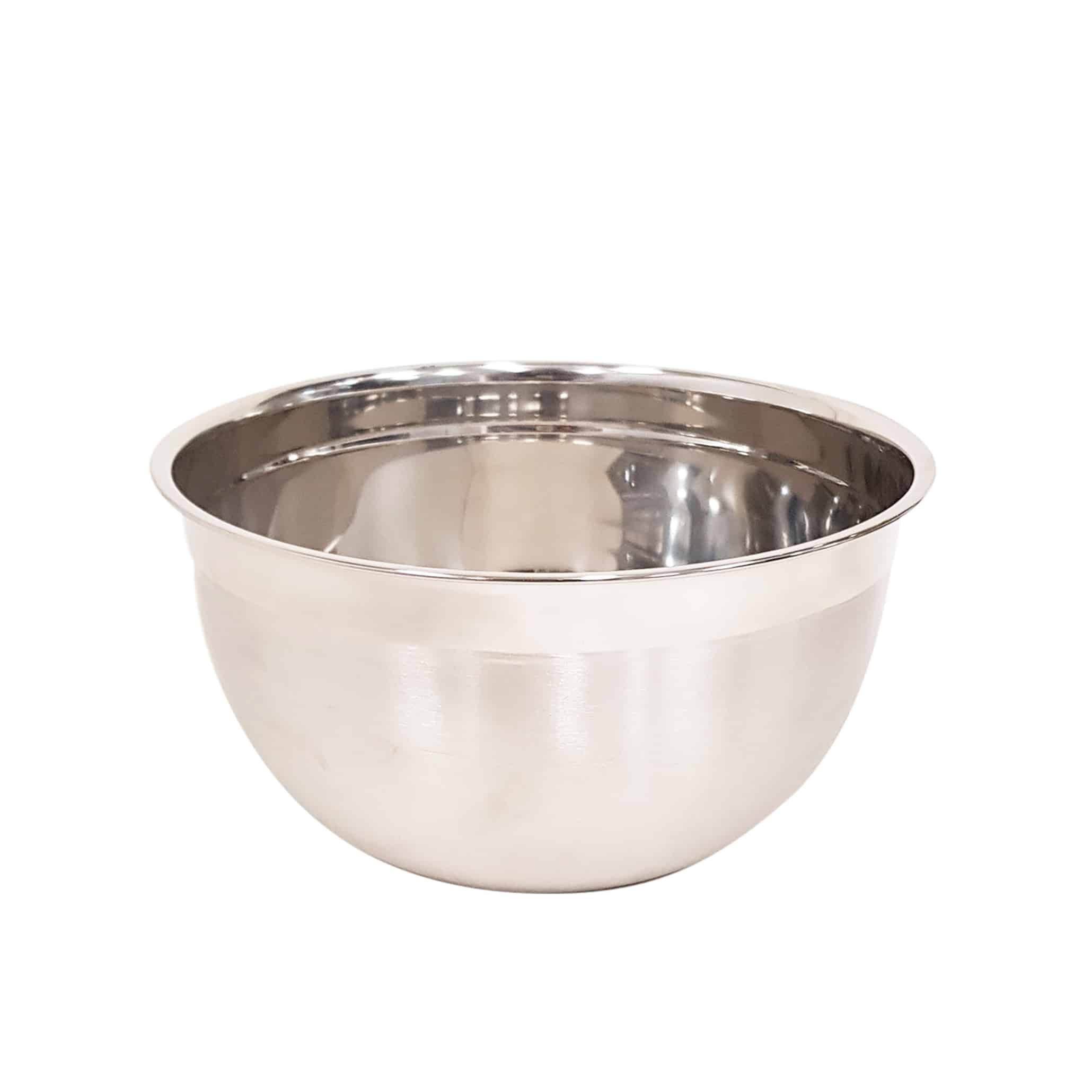 KH Stainless Steel Euro Mixing Bowl Heavy Duty 7.5lt