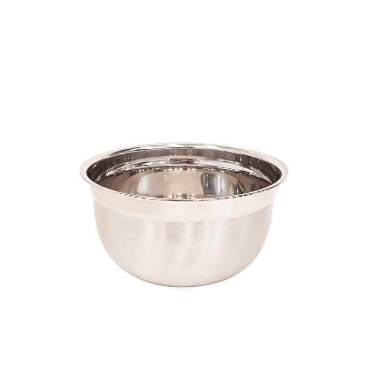 KH Stainless Steel Euro Mixing Bowl Heavy Duty 4.7lt