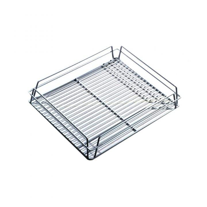 KH Glass Baskets Rack White 425 X 350 X 75 (17 X 14)