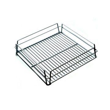 KH Glass Baskets Rack White 350 X 350 X 75 (14 X 14)