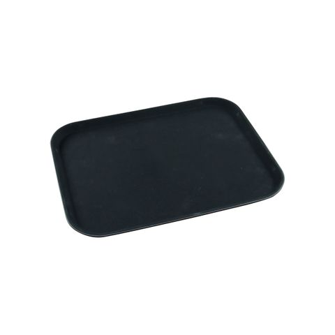 KH Rectangular Non-Slip Drink Tray 350 X 450mm Black