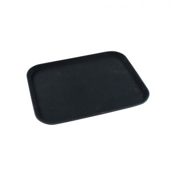 KH Rectangular Non-Slip Drink Tray 400 X 550mm Black