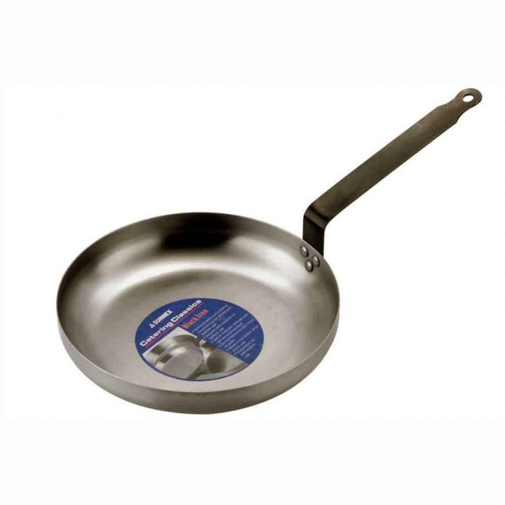 Sunnex® Black Iron Omelette Pan 25cm
