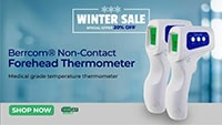 Berrcom® Non-Contact Forehead Thermometer