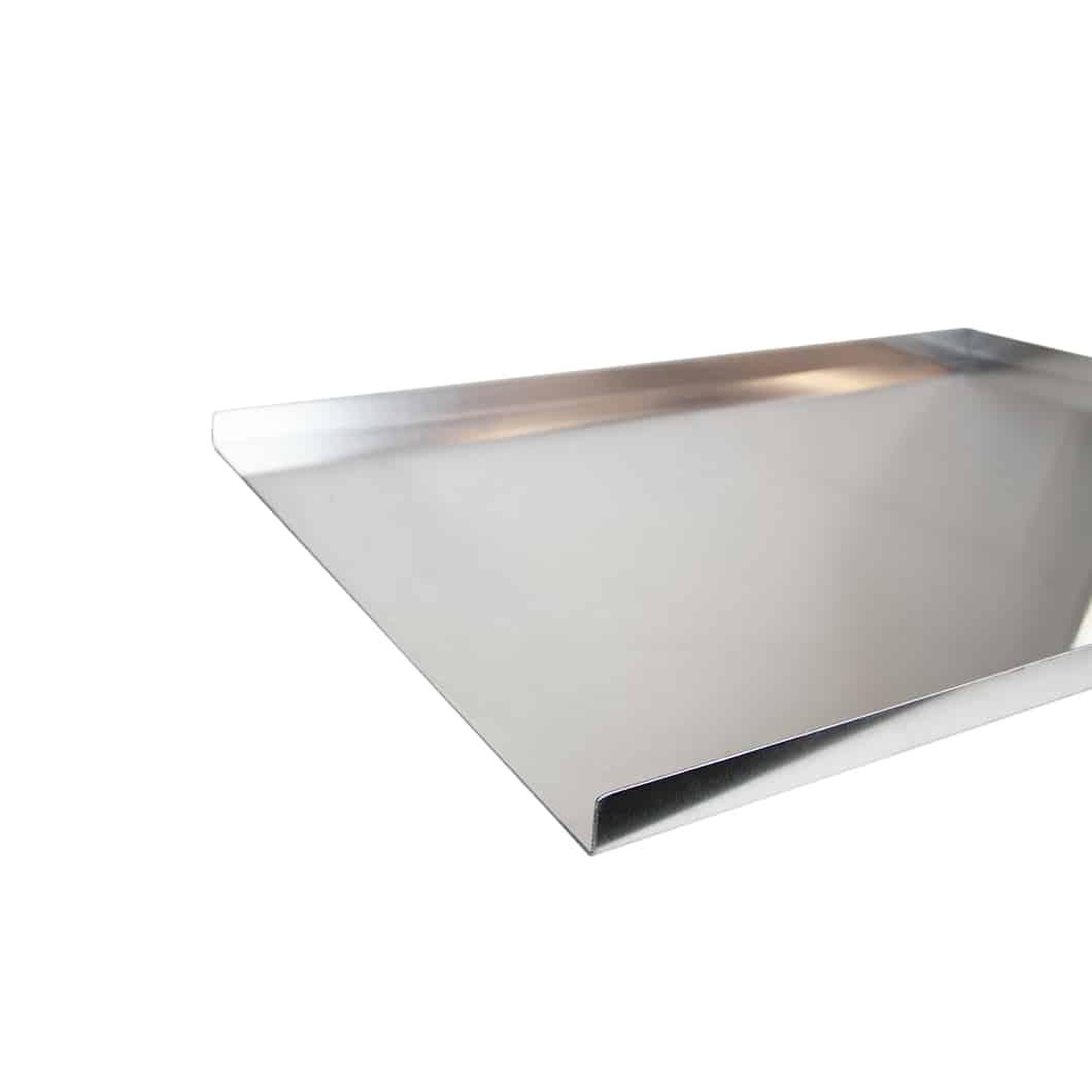 Bakers Tray 3 Sided Aluminium (2)